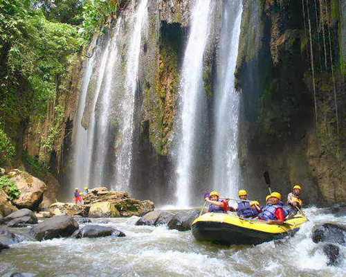 Riverrafting i Ubud